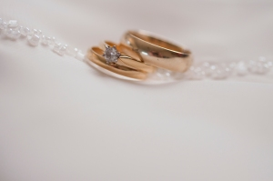 Rings and dress